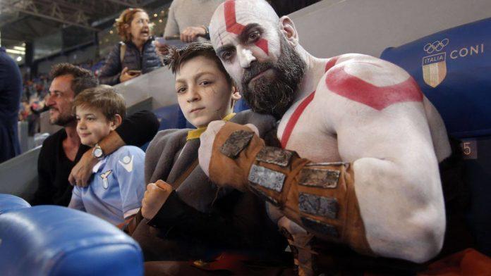 Foto: Kratos e Atreus
