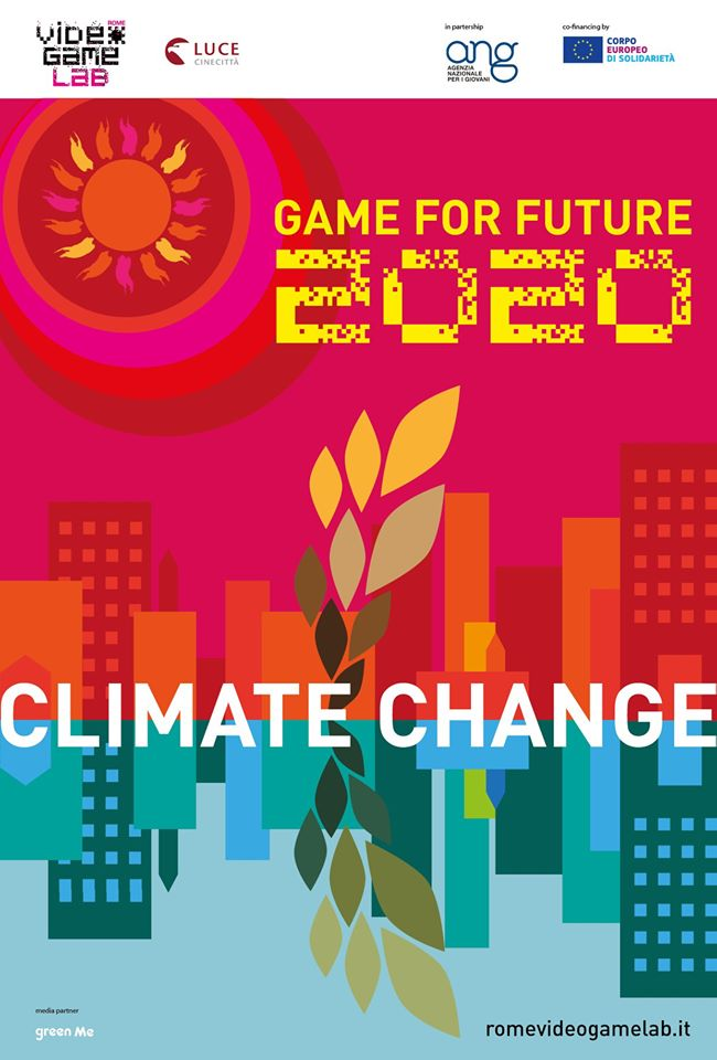 Tema del Video Game Lab 2020: climate change
