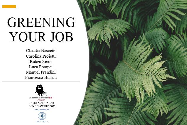 greening-your-job-gamificationlab-sapienza